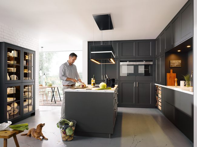 schuller Vienna Satin Kitchens cardiff