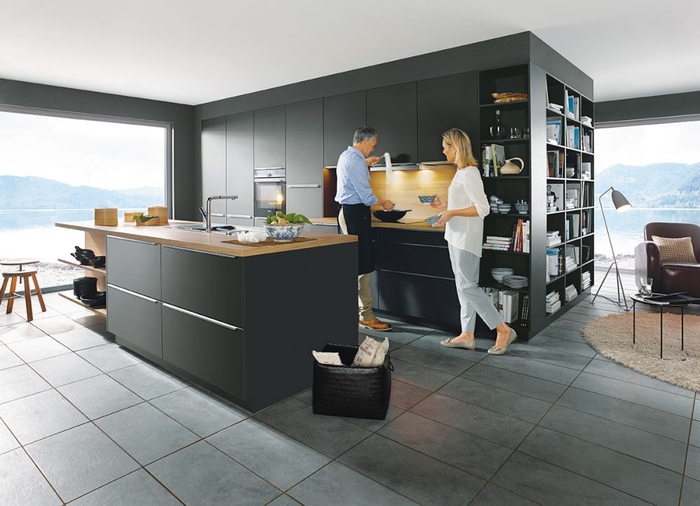schuller glasline matt glass kitchens cardiff