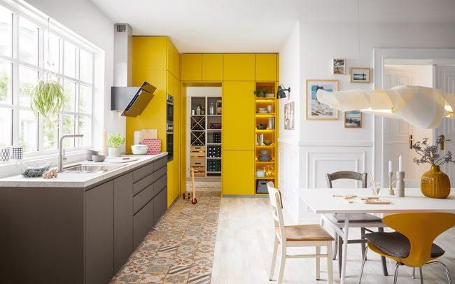 German Kitchens Cardiff alea matt velvet lacquer
