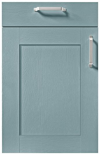 schuller german kitchen cardiff casa gloss shaker kitchen blue grey