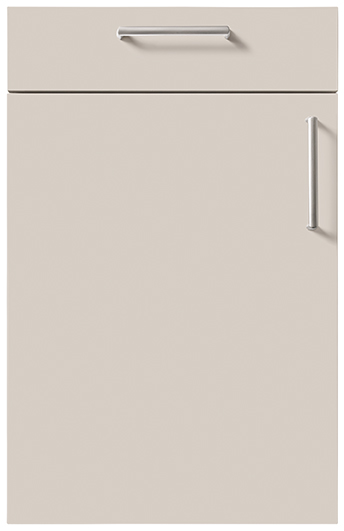 schuller german kitchen cardiff fino gloss kitchen sand grey