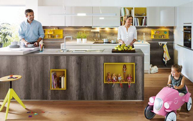 Schüller Fino Gloss Kitchens cardiff schuller