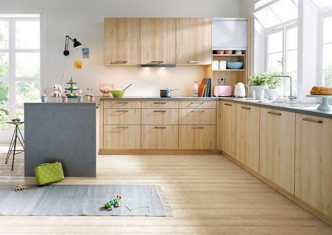 Schuller Bari Woodgrain Effect Kitchens