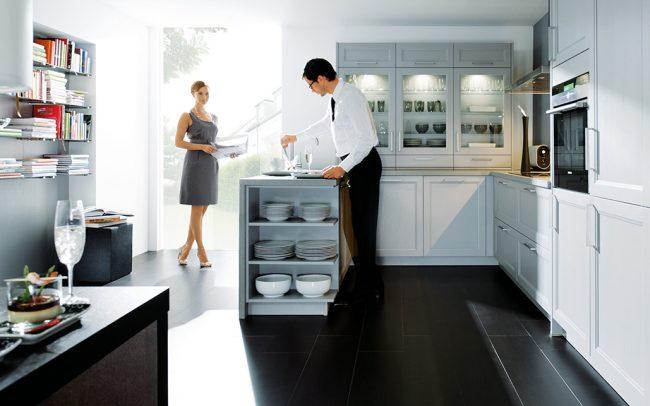 Schuller Finca Solid Ash Satin Kitchen cardiff german kitchens