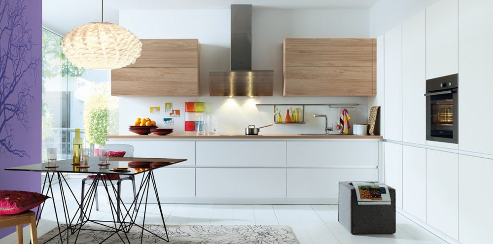 Schuller Lima Woodgrain Effect Kitchen cardiff schuller german kitchens
