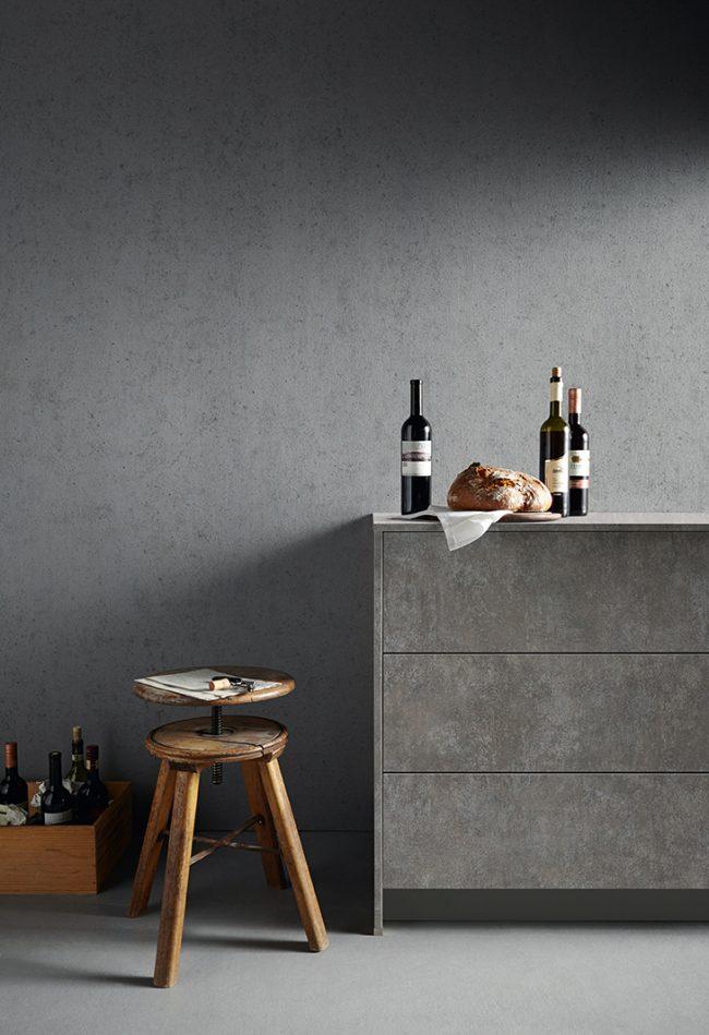Schuller Elba concrete kitchen cardiff german grey kitchens