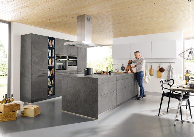 elba concrete kitchen schuller kitchens cardiff