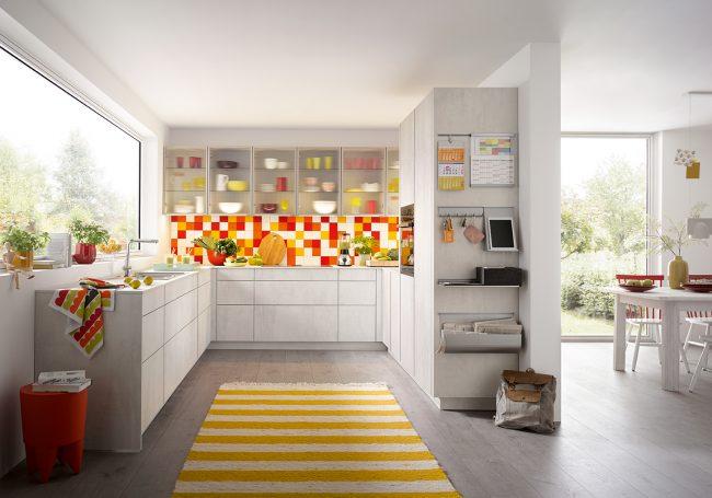 elba white concrete kitchen artisan interiors cardiff