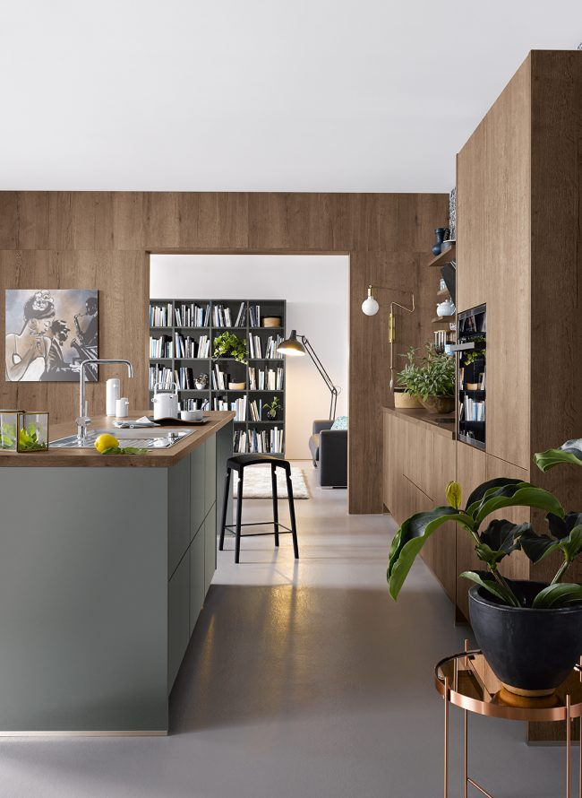 cremona schuller kitchens cardiff woodgrain kitchens