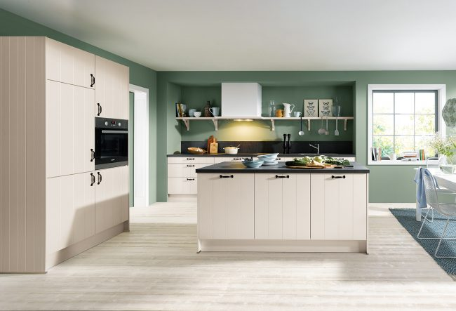 Schüller Domus Satin Kitchens cardiff south wales