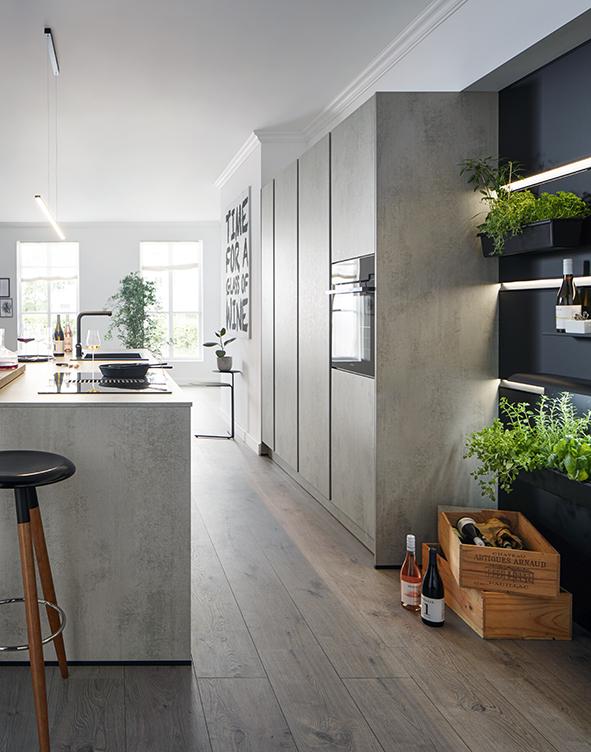 schuller german kitchens cardiff - elba kitchen 1