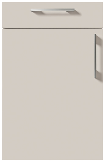 schuller german kitchens cardiff uni matt sand grey