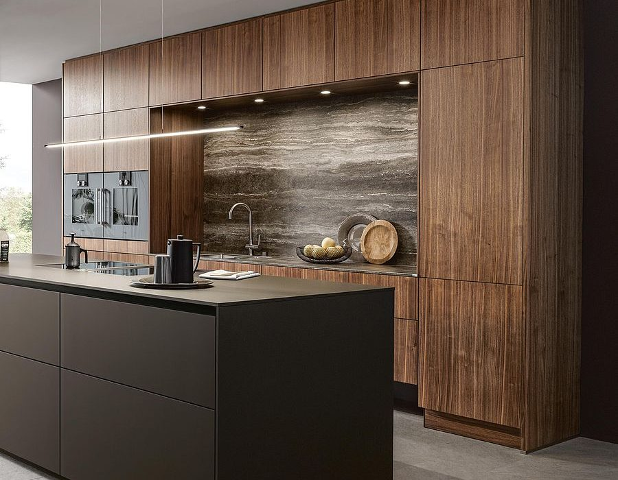 Next 125 German Kitchens wood veneer