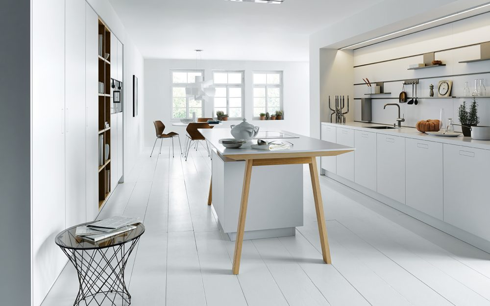 Next 125 German Kitchens Cardiff - NX800 Layered Laminate - German Kitchens Cardiff