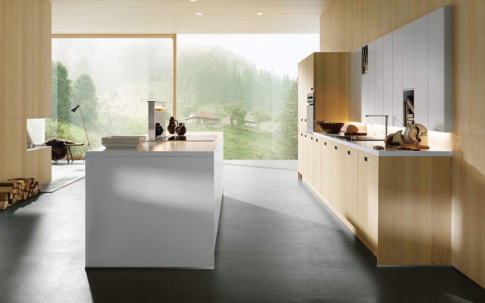Next 125 German Kitchens Cardiff - NX800 Layered Laminate