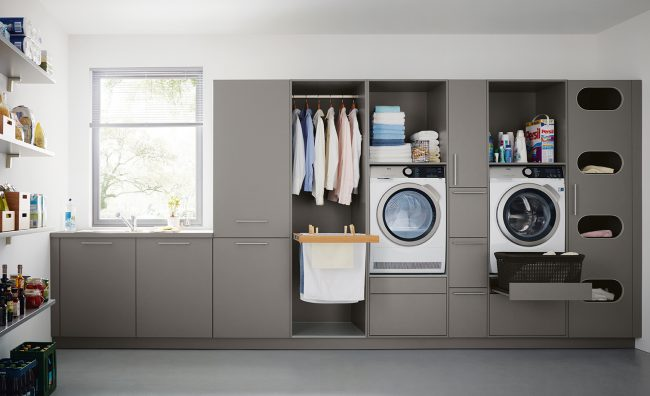 Utility Rooms by Schuller German Kitchens Cardiff