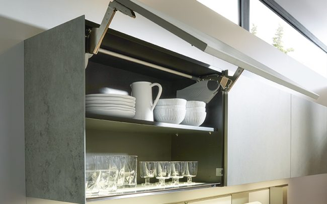 luxury german kitchens - ceramic wall units