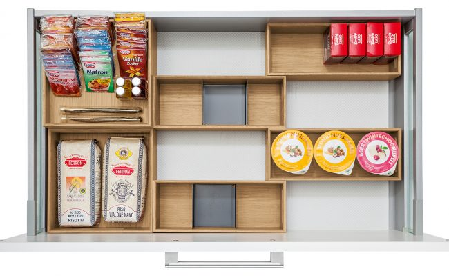 Schuller German Kitchens Cardiff - Oak Flex Box