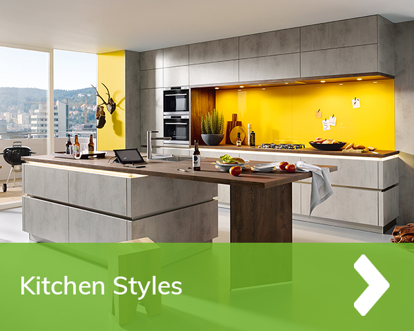 German Kitchens Cardiff - Kitchen Ranges - styles