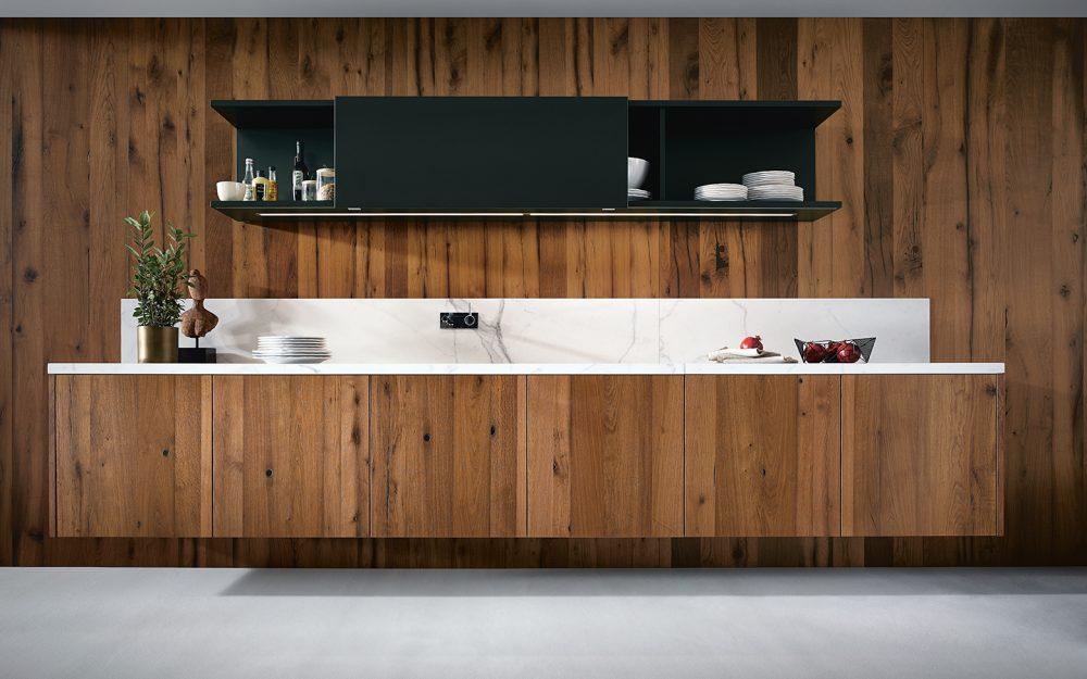 Luxury German Kitchens in Cardiff - blog - Wood effect Kitchens