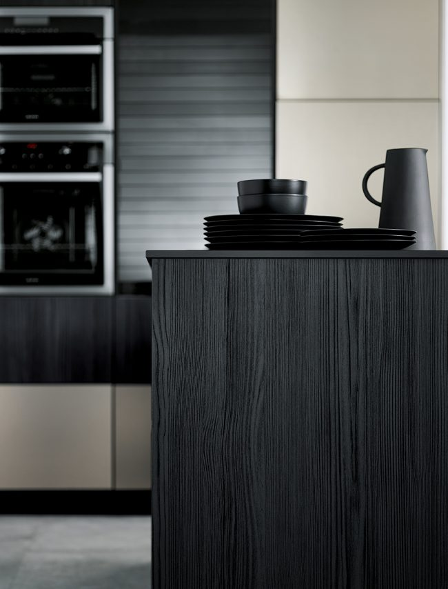onyx black kitchens schuller cardiff