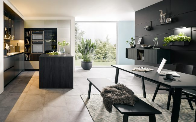 matt black kitchens schuller cardiff