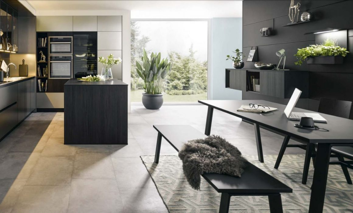 black kitchens cardiff schuller german kitchens black colour