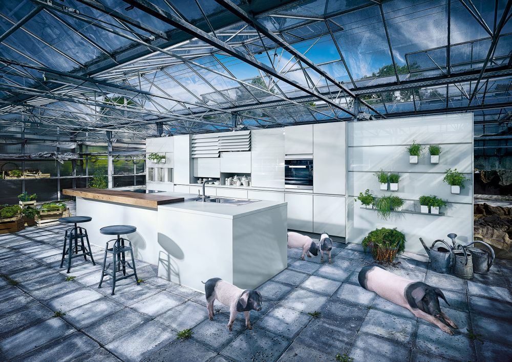 Next 125 NX310 high gloss kitchen cardiff luxury kitchen cabinets