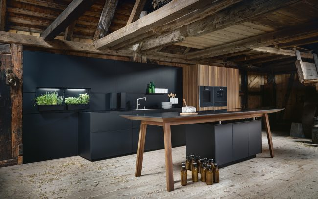 Black Kitchens by Schüller Next 125 in Cardiff