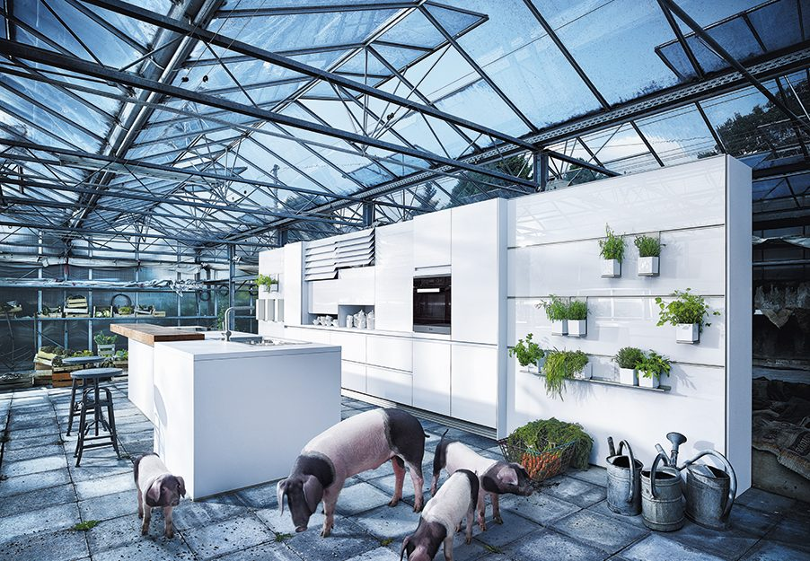 Premium German Kitchen Design Studion Cardiff - Next 125 NX901 - Glass High Gloss (1)