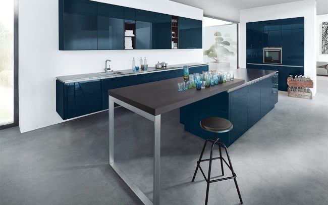 Premium German Kitchen Design Studion Cardiff - Next 125 NX901