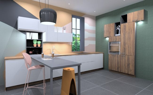 Schüller Kitchen Complete With Worktops & Appliances - £9,090