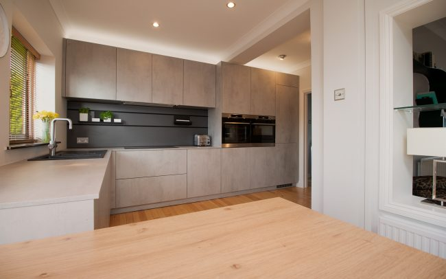 Schuller Elba Kitchen Project in Barry - 04