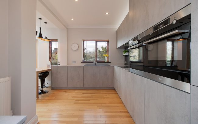 Schuller Elba Kitchen Project in Barry - 03