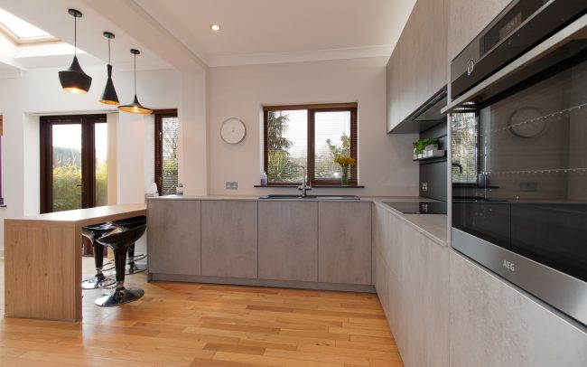 Schuller Elba Kitchen Project in Barry - 02