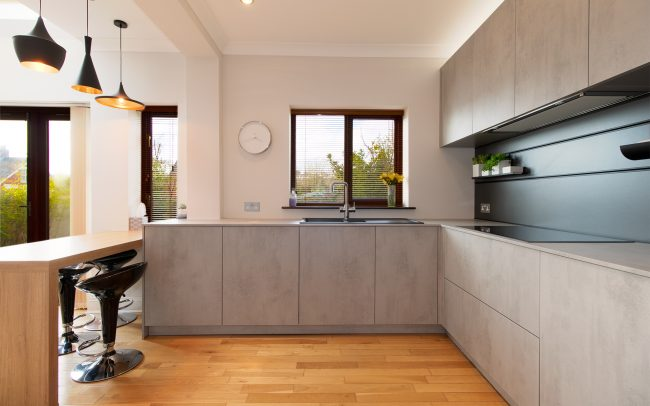 Schuller Elba Kitchen Project in Barry - Main